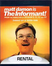 The Informant! (Blu-ray Disc, 2010) Matt Damon true story whistleblower comedy