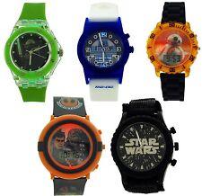 Star Wars Boys Kids Digital Analogue Flashing Lights Watch Boys Gift For Him