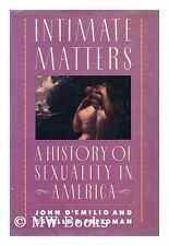 Intimate Matters: A History of Sexuality in Americ