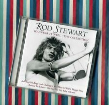 "Rod Stewart New ""You Wear It Well/The Collection"" CD Dirty Old Town/Not My Baby"
