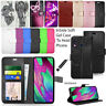 For Samsung Galaxy A40 SM-A405FN Case Wallet Cover Flip Leather Book + Guard
