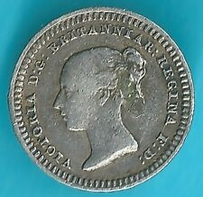 More details for silver maundy 1843 queen victoria 1 1/2 pence british coin