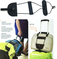 Adjustable Travel Luggage Suitcase Belt Add A Bag Strap Carry On Bungee Travel