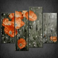 RED POPPIES FIELD CANVAS PRINT PICTURE WALL ART FREE FAST DELIVERY