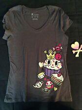 BNWT Tokidoki Women's gray cupcake T-shirt size small