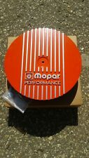 "Nos Mopar Performance Orange Cast Aluminum 13"" Air Cleaner Assembly 340 440"