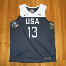 Nike USA Basketball James Harden #13 Jersey Men's L, AV3826-454 Dri-FIT New $110
