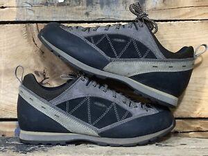 Asolo Men's Waterproof Vibram Hiking Shoes Size 9 US 42.5 EU 8.5 UK Gray Suede