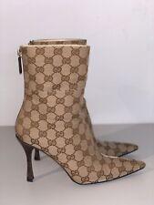 Gucci Boots Classic Monogram 37
