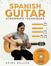 Spanish Guitar Strumming Techniques BOOK/DVD by Edina Balczo (Paperback, 2018)