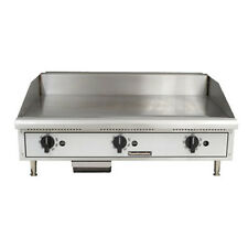 """Toastmaster Tmgt24 Gas Countertop Griddle 24 """" W Thermostatic Controls"""