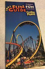 Cedar Point 1997 FUN GUIDE / MAP / BROCHURE