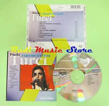CD PAOLA TURCI I grandi successi 1999 italy MUSICATUA BMG (Xi2) no lp mc dvd