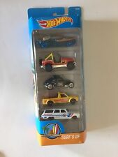 Hot Wheels - Set of (5) HTF Surf's Up Gift Pack - Jeep CJ-7, VW Caddy, '64 Nova