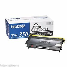 2 NEW GENUINE Brother TN-350 TONER HL2040 HL2070 MFC7220 MFC7420 MFC7820 Printer