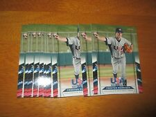 Lot (10) PRESTON MORRISON Card #16 Cubs 2013 Panini USA Baseball Box Set