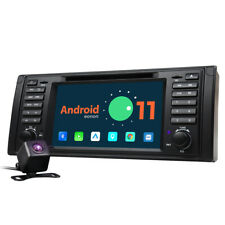 """CAM+ 7"""" Android 11 Auto Car Play Radio GPS Stereo DVD Player For BMW E39 525 540"""