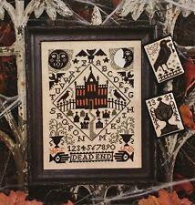 Nevermore Halloween Prairie Schooler Cross Stitch Pattern 196 Original