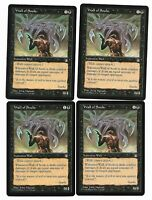 Magic The Gathering ~ 4x Wall of Souls ~ Stronghold ~ M/NM