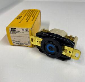 NEW HUBBELL HBL2720 RECEPTACLE TWIST-LOCK 20A 250V