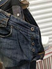 Dolce & Gabbana D & G Mens Jeans 32x 32 Medium Wash Unique Camo Denim