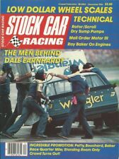 STOCK CAR RACING 1984 DEC - Deery, Osborne, Bonnett, Earnhardt,Ray Baker, Petty