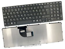 New Replacement SONY VAIO SVE151G11M Qwerty Grey Black UK Laptop Keyboard