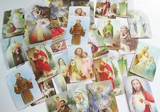 Lot of 2 Boxes of 54 Beautiful Saint Prayer, Holy Cards in St. Michael Boxes