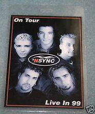 NSYNC Backstage Laminate Pass -  Novelty