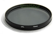 72mm CPL Polarizer FILTER 72 mm for Canon, Nikon Camera