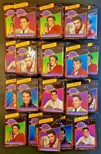 1992 The Elvis Collection - The Cards of His Life - Lot of 26 Sealed Packs!