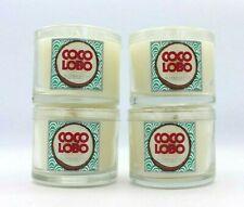 Set of 4 Bath & Body Works Coco Lobo Mini Candles 1.3 oz