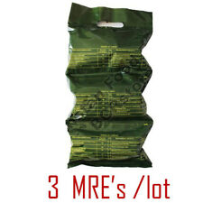 3 x Kazakhstan Army MILITARY MRE (DAILY FOOD RATION PACK) Emergency Food! 1,9kg