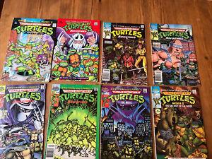 Teenage Mutant Ninja Turtles Archie Comics Lot