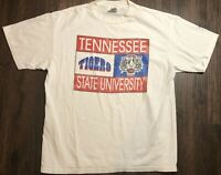 Tennessee State University Tigers T Shirt Size XL PowerPro Tag VTG