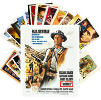 Postcards Pack [24 cards] PAUL NEWMAN Vintage Movie Posters CC1339