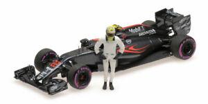 1:43 Minichamps Mclaren Honda Mp4/31 Jenson Button Gp Abu Dhabi 2016 530164022 M