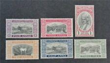 nystamps British India Soruth Stamp # 30-35 Mint OG H/NH $65