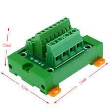 4 to 8 channels DIN Rail and panel Mounting Power Distribution Module Board.