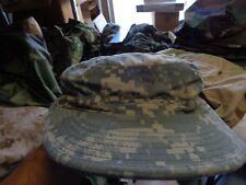Patrol Cover Hat Digital Grey Army Size 7 1/8 Oif / Oef