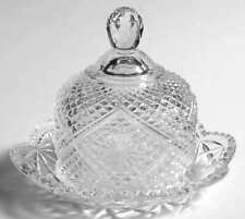 Small Round Covered Butter Dish by Avon