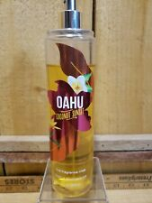 Bath & Body Works Oahu Coconut Sunset Fine Fragrance Mist 8 oz 80% Full