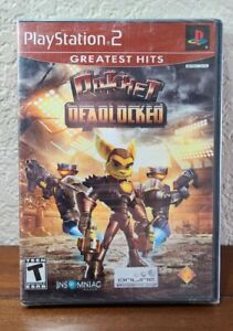 Ratchet: Deadlocked (Sony PlayStation, 2006) Brand New Factory Sealed - PS2