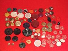 + plus de 70 boutons de collection anciens - mercerie art déco, nouveau... +