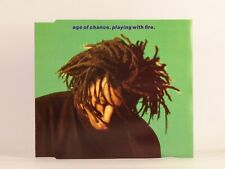 AGE OF CHANCE PLAYING WITH FIRE (A73) 4 Track CD Single Picture Sleeve VIRGIN