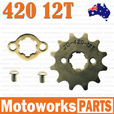 12T Teeth 17mm 420 Chain Front Sprocket Cog PIT TRAIL QUAD DIRT BIKE ATV BUGGY