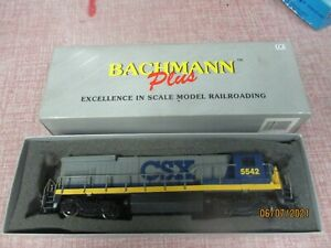 HO SCALE BACHMANN CSX 5542  LOCOMOTIVE