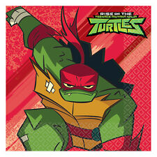 16 X Rise Of The Teenage Mutant Ninja Turtles Papier Fête Serviette