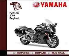 Yamaha FJR1300 FJR 1300 2009 Service Repair Workshop Manual