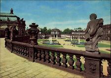 Dresden Sachsen DDR Postkarte um 1966 Zwinger Partie alte Ansichtskarte ungelauf